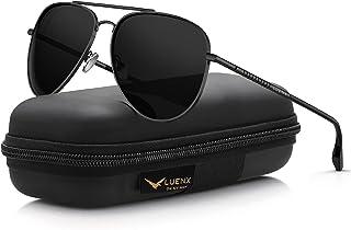 LUENX Aviator Sunglasses for Men Women Polarized - UV 400...