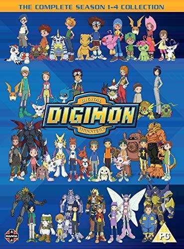 Digimon: Digital Monsters Season 1-4 Boxset (32 Dvd) [Edizione: Regno Unito]