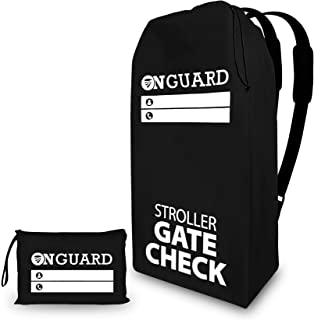 OnGuard Double Stroller Travel Bag - Waterproof Rip Resistant Polyester Compact - Stroller Bag Cover Accessories, Stroller...
