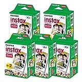 富士フイルム チェキ インスタントカラーフィルム instax mini 2P×5 計100枚
