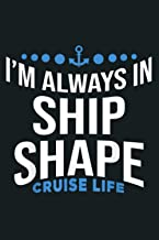 Cabin Crew Captain Profession In Ship Shape Cruise Life: Notebook Planner - 6x9 inch Daily Planner Journal, To Do List Not...