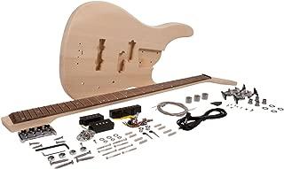 Seismic Audio - SADIYG-18 - DIY Modern Bass Style Electric Bass Guitar Kit - Unfinished Luthier Project Guitar Kit