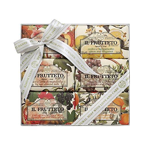 Nesti Dante Il Frutteto Soap Set Zestaw mydeł toaletowych 6x150g