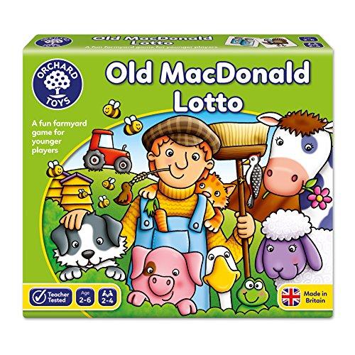 Orchard Toys - Nella Vecchia Fattoria, Tombola [Importato da Regno Unito] [Importato da UK]