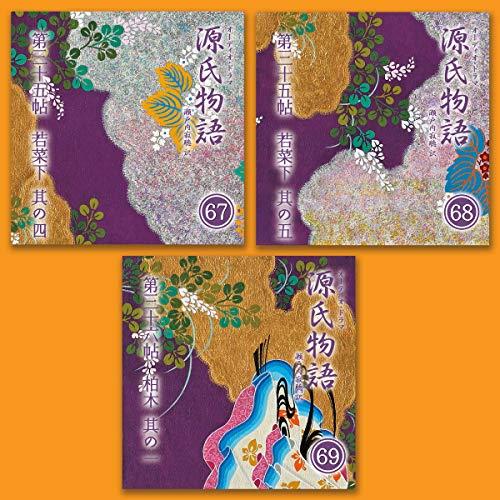 『源氏物語 瀬戸内寂聴 訳 3本セット(二十三)』のカバーアート