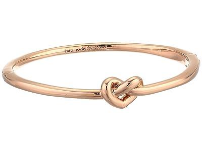 Kate Spade New York Loves Me Knot Loves Me Knot Bangle (Rose Gold) Bracelet