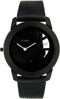 ساعة تيتان ايدج للرجال - رفيعة ، كوارتز ، مقاومة للماء