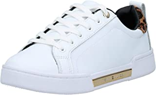 Tommy Hilfiger Branded Leo Print Women Sneakers, White (White)