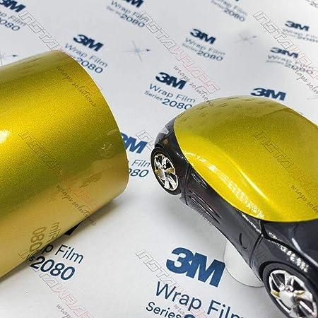3m 1080 Satin Black S12 Vinyl Car Wrap Film Sample 3in X 5in Auto