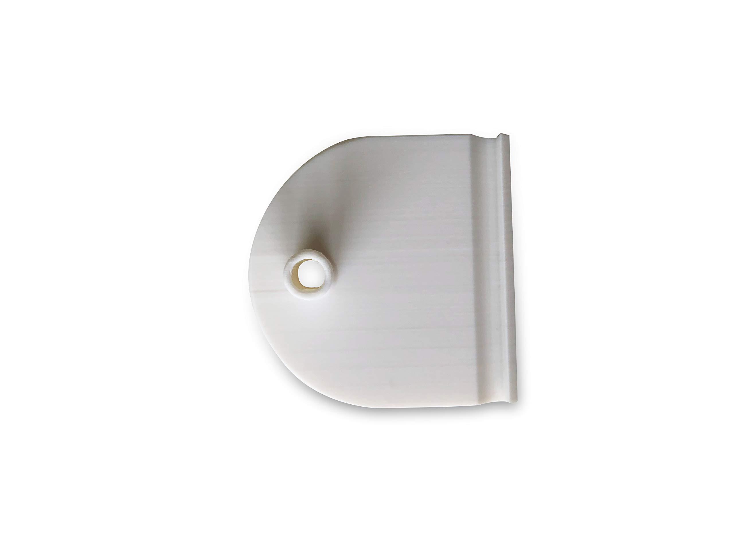 3dp 2X Inserto Superior de Puerta corredera - Pieza de Repuesto Compatible con IKEA Pax 124341: Amazon.es: Hogar