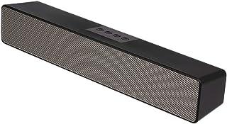 GoolRC 10W Wired & Wireless Bluetooth 5.0 Soundbar 1200mAh Rechargeable Speaker TV AUX USB Port for Desktop