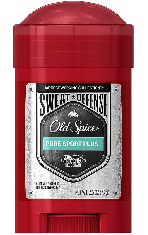 個人タバコ署名オールドスパイス Old Spice メンズ デオドラント ピュアスポーツプラス スウィートスウィートディフェンス 男性用 固形 制汗剤 73g