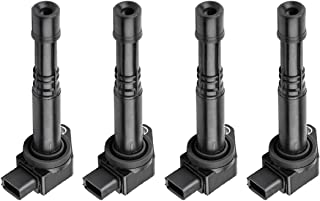 Ignition Coils Pack of 4 for 03-11 Honda Civic Accord CR-V Element S2000 02-06 Acura RSX L4 2.0L 2.2L 2.4L