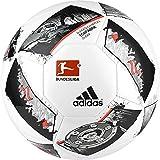 adidas DFL Glider Fußball, White/Black/Solar Red, 5