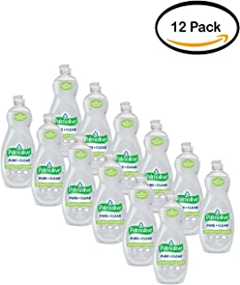 PACK OF 12 - Palmolive Ultra Dish Liquid, Pure and Clear, 32.5 Fl Oz