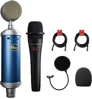 Blue Bluebird SL Large-Diaphragm Condenser Studio Microphone with Blue Microphones enCORE 200 Mic, Foam Windscreen, XLR Cable & Pop Filter Bundle