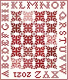 Minick and Simpson Roselyn A is for Apple Quilt Kit Moda