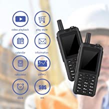 Fosa Smart 4G Walkie Talkie Mobile Phone. Portable 2.5 inch 3500mAh Rugged Two Way Handheld Radio Replacement with Camera, Videos Play, Calendar, Calculator, Clock, Messages, Voice Call, SOS