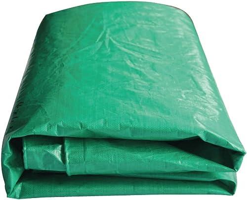 LQQGXL La bache Verte, Prougeection Solaire imperméable de Cargaison de Camion dépose l'absorption de Chaleur de l'isolation de la poussière de Tissu Anti-corrosif Bache imperméable à l'eau