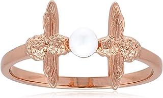 Olivia Burton Women's Pearl Bee Ring - OBJ16AMR12S