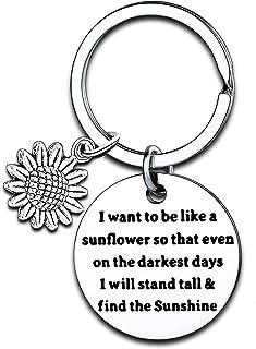 Girls Gift Inspirational Women Girls Sunflower Charm Bracelet I Want to Be Like A Sunflower Motivational Gift
