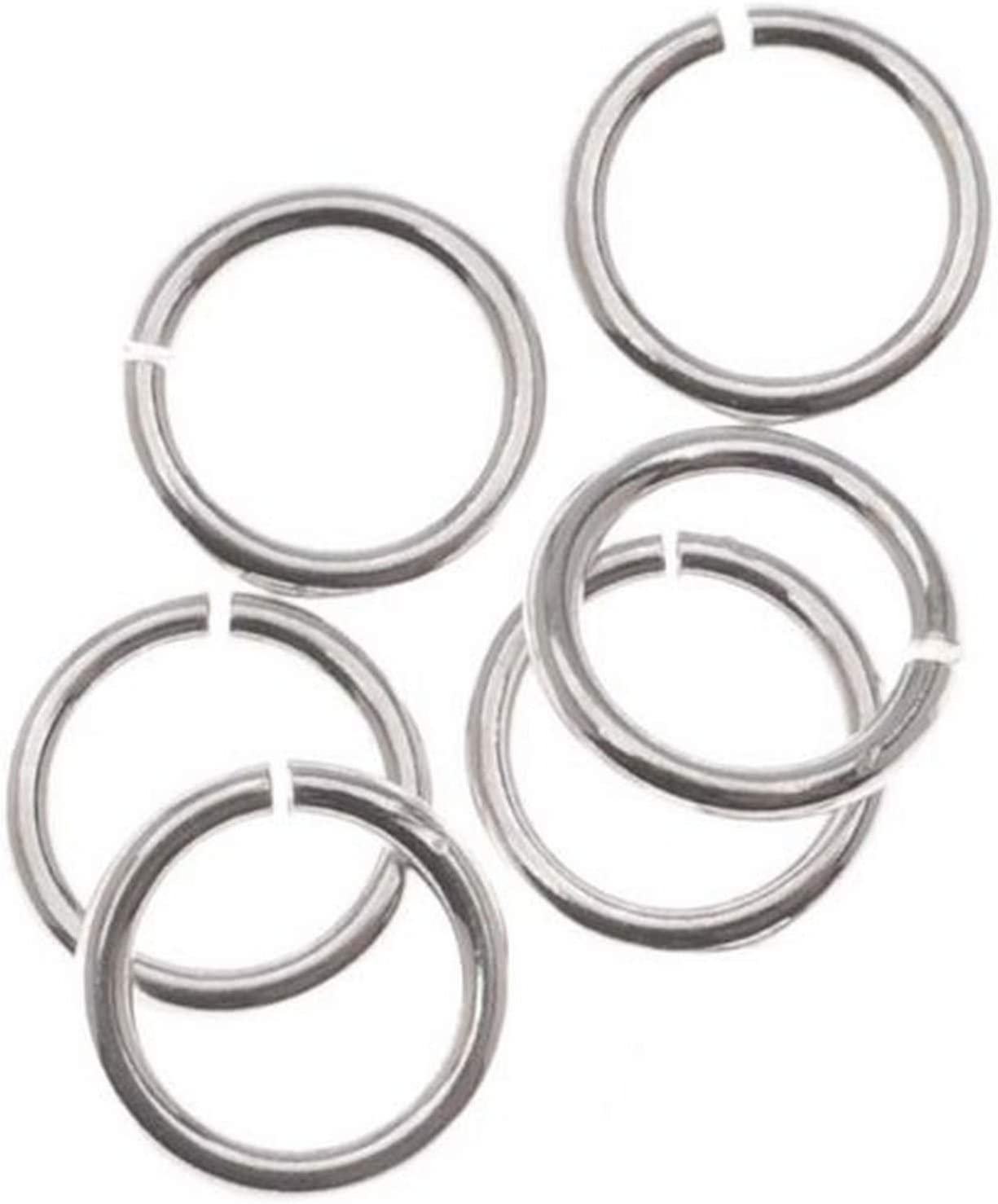 Beadaholique SS JR32 6 10-Piece Sterling 2 Jump Open 6mm Max 82% OFF Rings wholesale