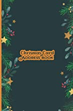 Christmas Card Address Book: Christmas Card List Address Book Tracker for keeping track of your holiday mailings.