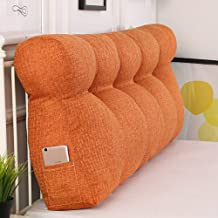 Reading Pillows Backrest Back Cushion Headboard Triangular Wedge Waist Support Cozy Bed Pillow Removable Washable