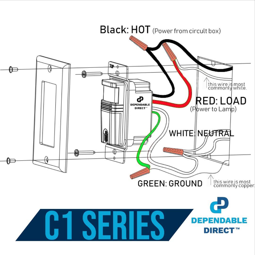 Amazon.com: Dependable Direct: Motion Sensor Light SwitchesAmazon.com