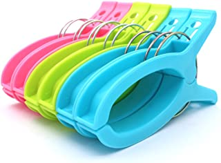 Z Zicome Set of 6 Super Jumbo Plastic Clips for Keeping Towels Sheets Quilts Clothes from Blowing Away