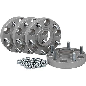 Spurverbreiterung Aluminium 4 St/ück 20//30 mm pro Scheibe // 40//60 mm pro Achse