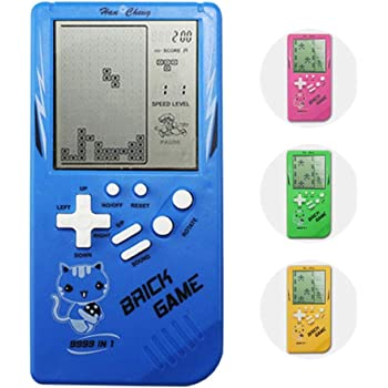 Cewaal Retro Classic Tetris Hand Held Lcd Electronic Game Toy Fun Brick Game Riddle Toys Amazon Co Uk Toys Games