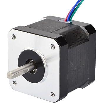 STEPPERONLINE Nema 17 Schrittmotor Bipolar 0.9deg 36Ncm 0.9A 42x40mm 4 Drähte für 3D DRUCKER/DIY CNC