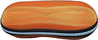 Flyme Fashion Elegant Portable Zipper Eye Glasses Sunglasses Case Resist Crush Protector Box