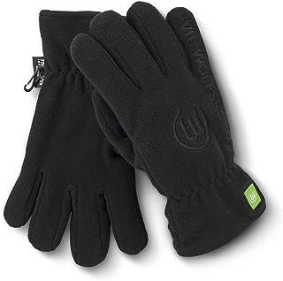 VfL Wolfsburg Handschuhe schwarz/fleece