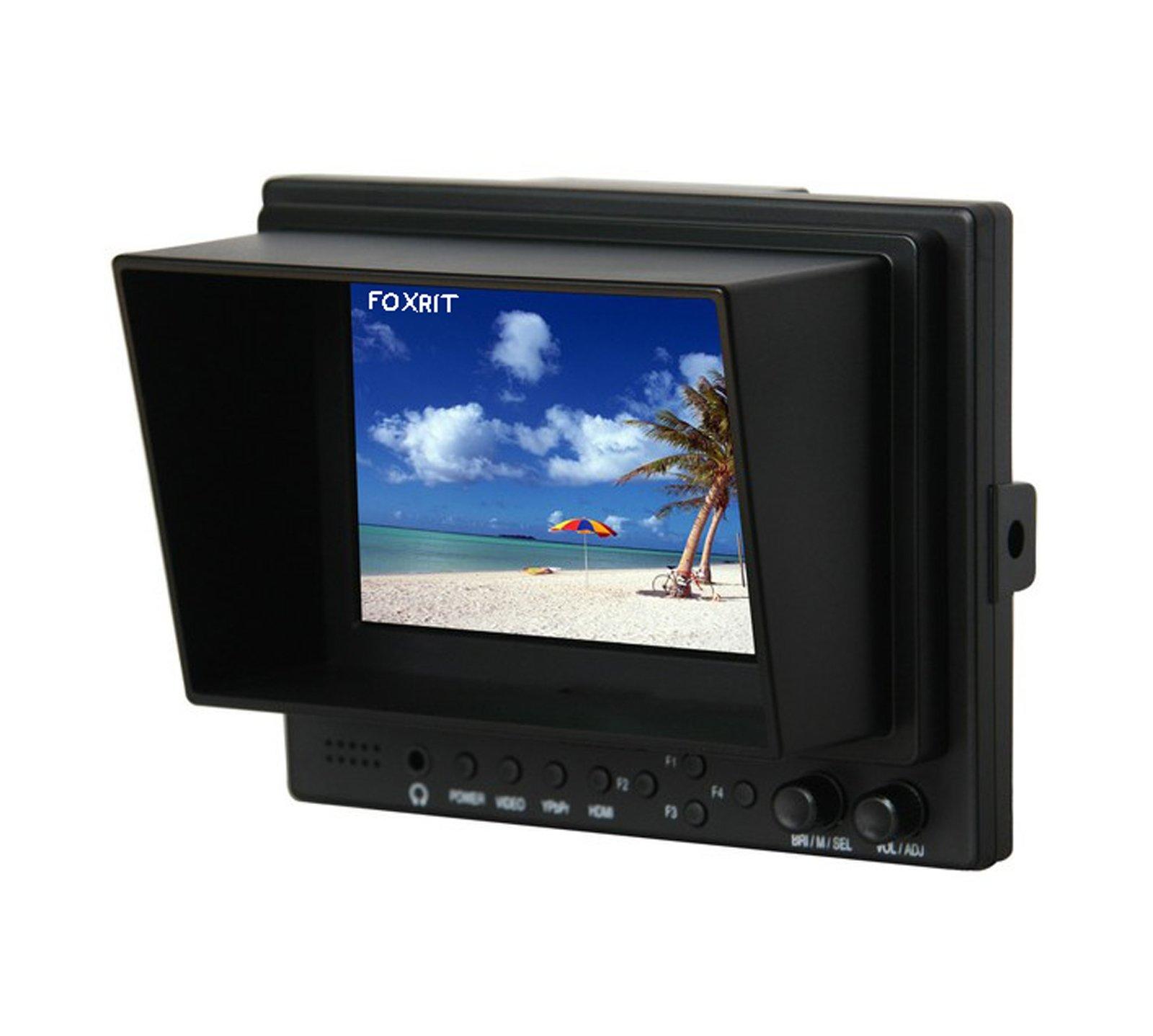 Lilliput 569 5 pulgadas 16: 9 LED Campo monitor con HDMI, vídeo por componentes y Sun Hood. Optimizado para cámaras réflex digitales.: Amazon.es: Electrónica