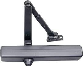 LCN 1460 Medium Duty Door Closer, Aluminum Powder Coat Finished, Cast Iron, Non-Handed, Regular Arm with Parallel Arm Shoe