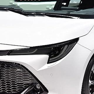 NCUIXZHFilme protetor do farol do carro adesivo TPU preto transparente, para Toyota Corolla E210 2019 2020 NMS 2014-2018 ...