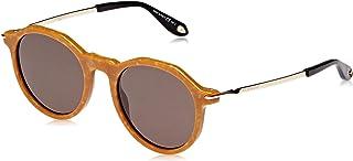 نظارة شمسية دائرية للنساء من جيفنشي - عدسات رمادية (GRSWG ذهبي)