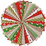 Weihnachts-Stoffpaket Polycotton-Stoff mit