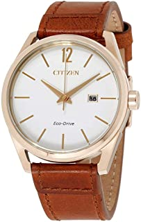 Citizen CTO Eco-Drive White Dial Men's Watch BM7413-02A