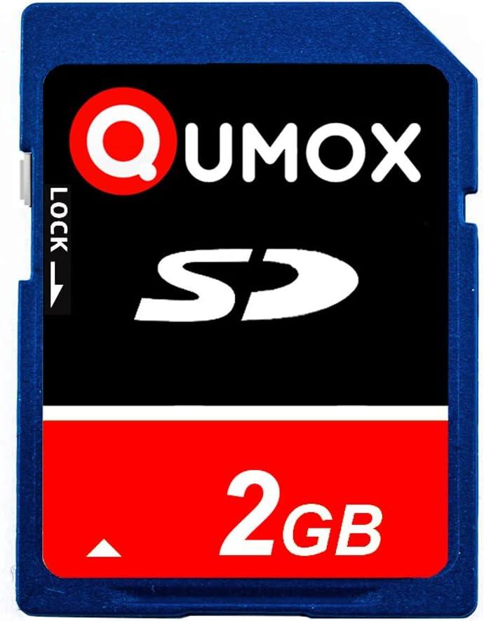 QUMOX 2GB 2048MB SD Memory Card for Camera Phone mp3 mp4 fm Transmitter
