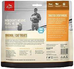 ORIJEN Freeze Dried Cat Treats, Grain Free, Natural and Raw Animal Ingredients