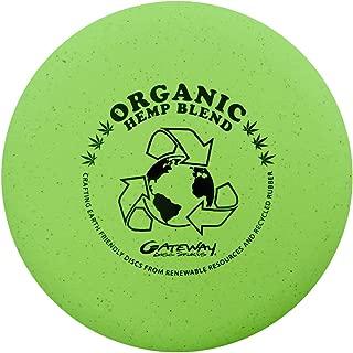 Gateway Disc Sports Organic Hemp Blend Wizard Putter Golf Disc [Colors May Vary]
