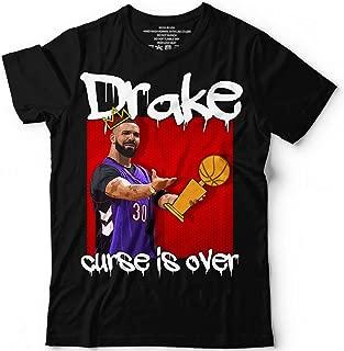 Drake-Cup Curse Is Over Shirt Basketball Toronto Hip Hop Finals Champions 2019 Winning Customized Handmade T-Shirt Hoodie/Long Sleeve/Tank Top/Sweatshirt