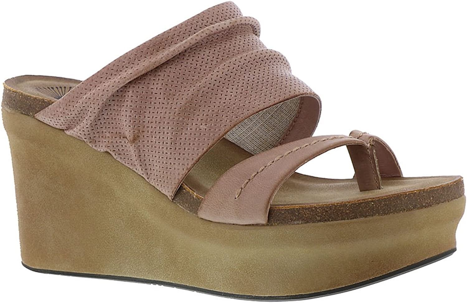 OTBT Womens Tailgate in Warm Pink Sandals