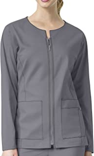 WonderWink womens Zip Front Jacket Medical Scrubs