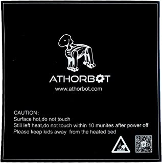 Athorbot 3D Printing Build Surface, Black (Pack of 3) (310mm X 310mm) for CR-10 CR-10S 3D printer