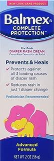 Balmex Complete Zinc Oxide Protection Diaper Rash Cream, 2 Oz
