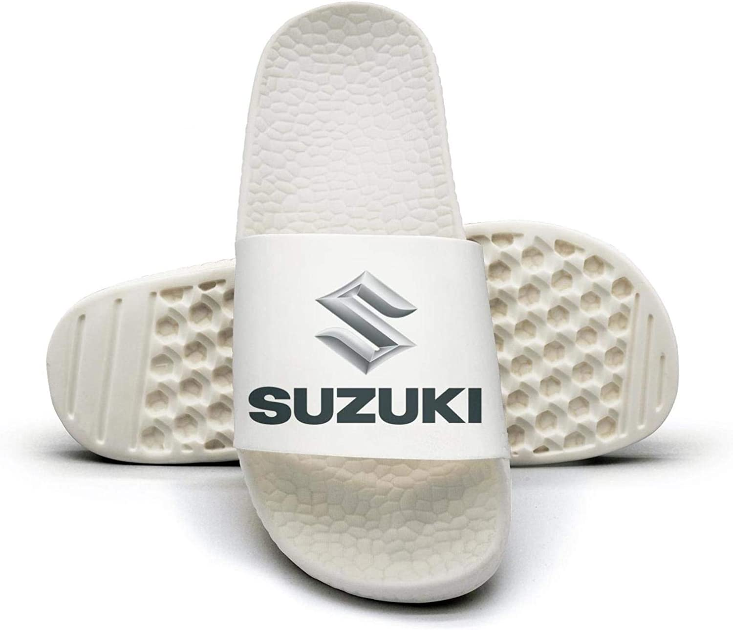EIGKASL Printed Non-Slip Slippers Slides flip Flop Sandals Suzuki-Logo-Japan-Symbol-Emblem-Summer Stylish for Womens